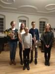 Annaflora Müller, Sofie Harling, Cosima Klarmann, Kevin Schmidt und Laura Streckert